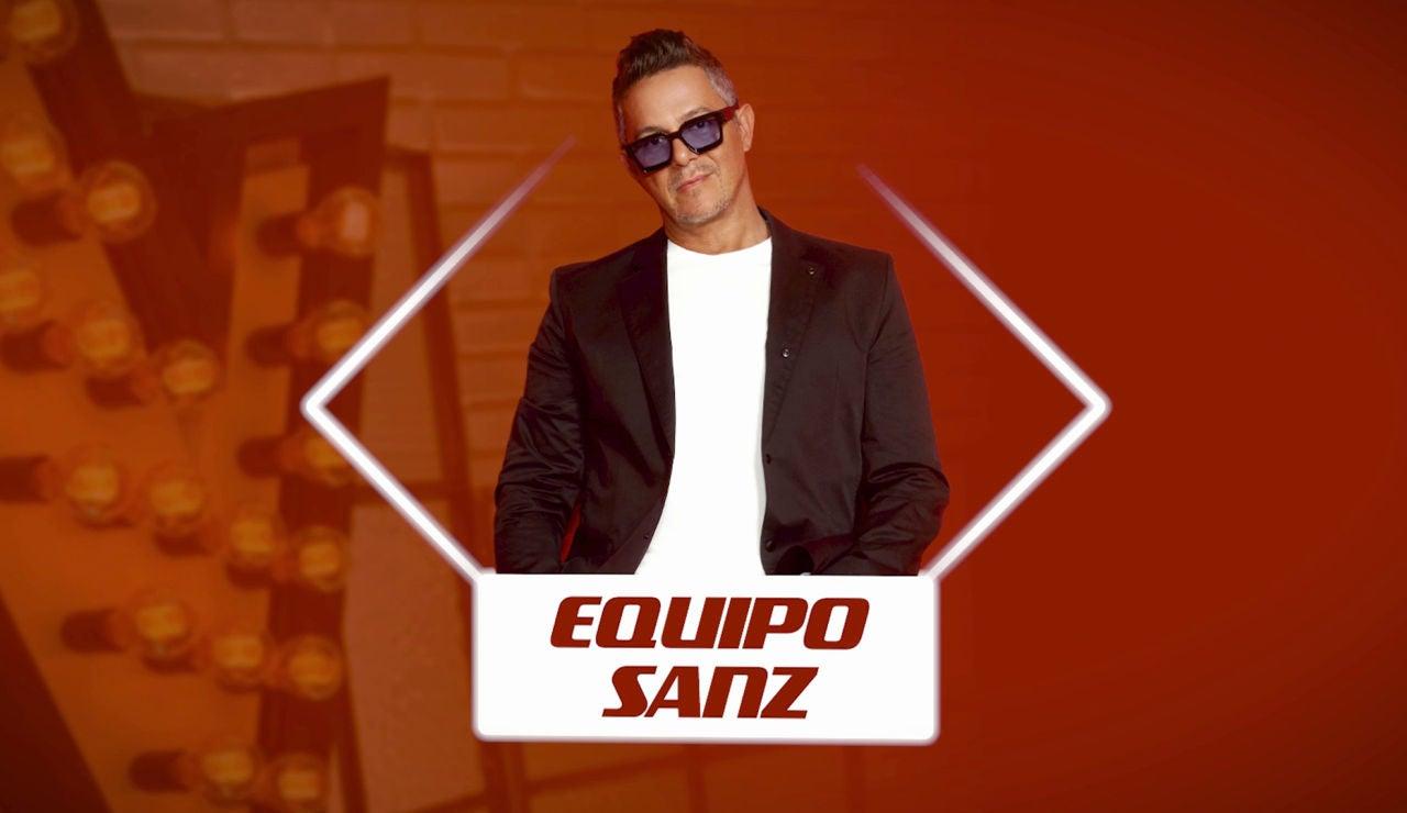 """El llamamiento de Alejandro Sanz a los talents de 'La Voz': """"El 'Equipo Sanz' es uno de los mejores"""""""