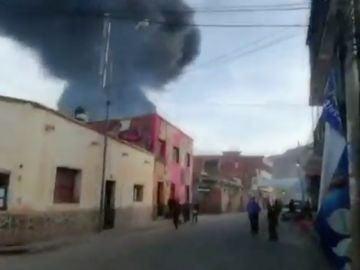 Explosión Bolivia