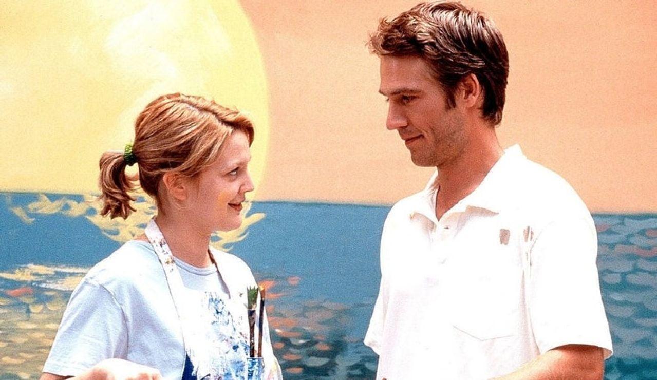 Drew Barrymore y Michael Vartan, protagonistas de 'Nunca me han besado'