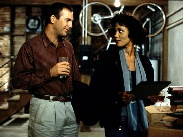 'El Guardaespaldas' con Whitney Houston y Kevin Costner