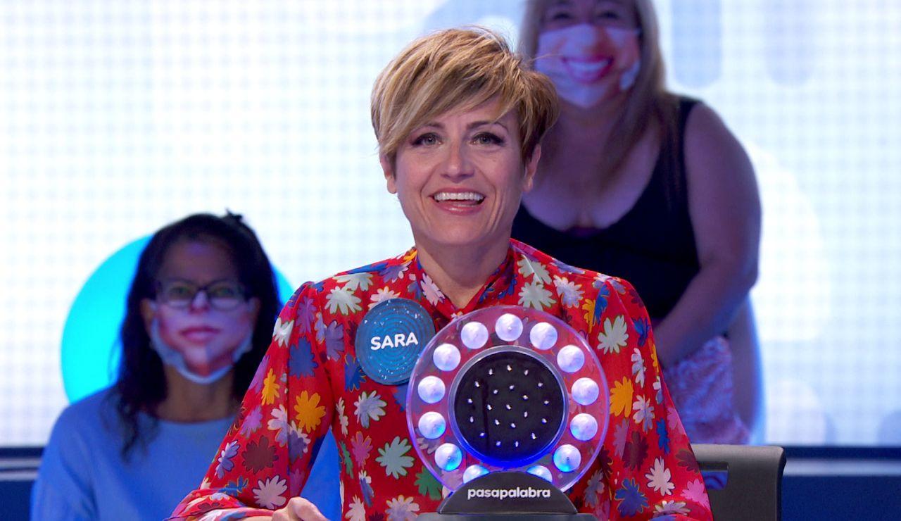 """¿Cómo da paso un Minion a la 'Sopa de Letras'?"" Sara Escudero sorprende con su don vocal"