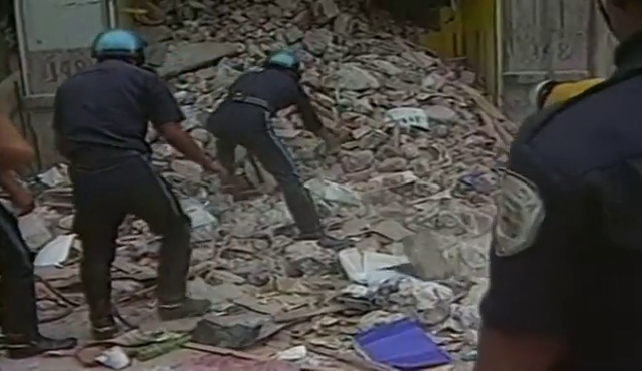 Las impresionantes imágenes del terremoto de 8,1 grados que sacudió México hace 36 años