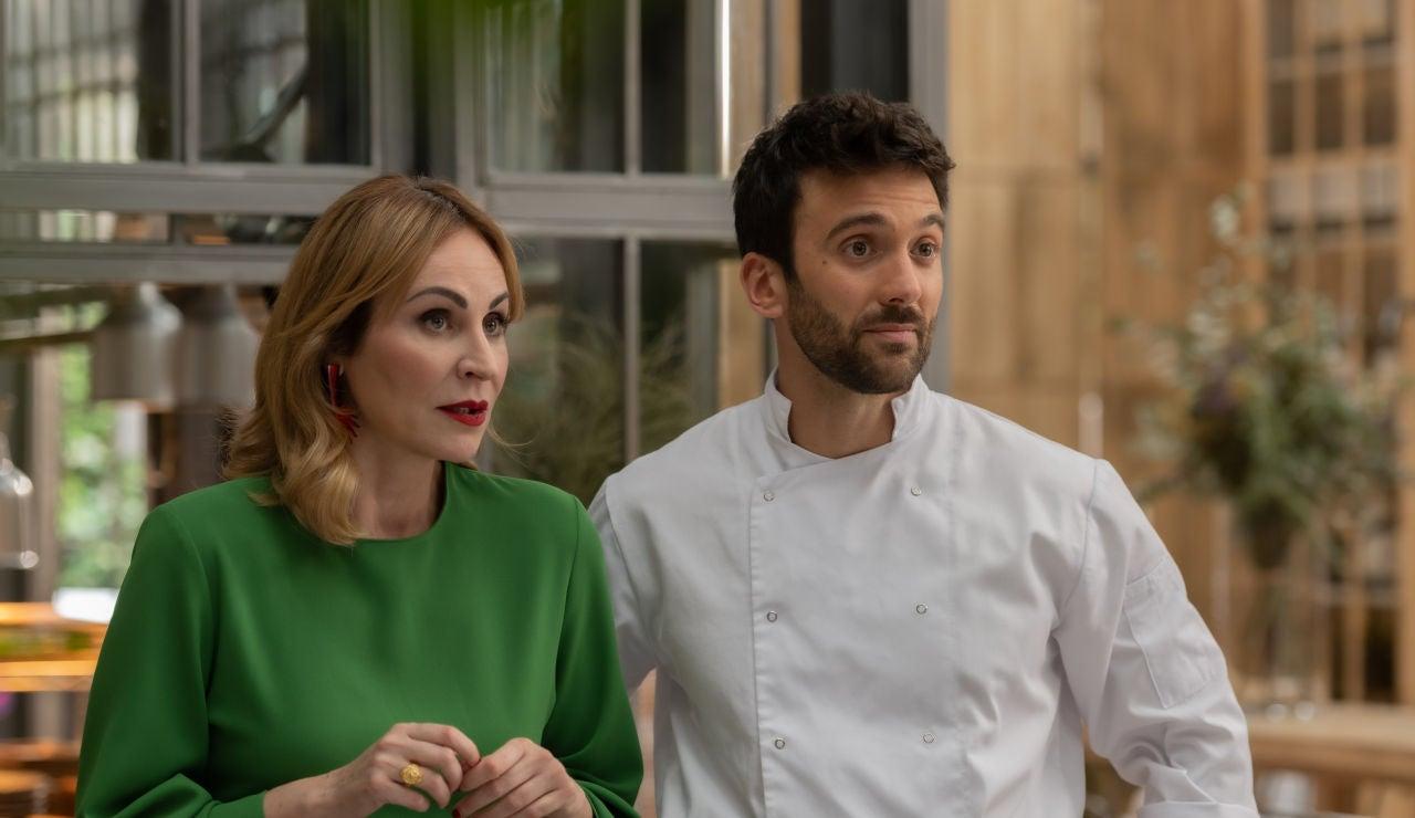 Ana Milán, al mando de la cocina en el restaurante de Rebeca
