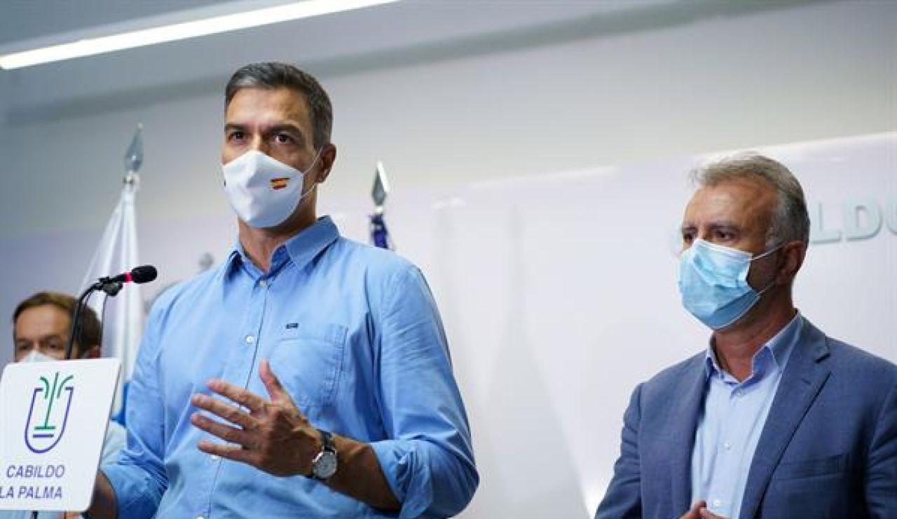 Pedro Sánchez y Ángel Torres