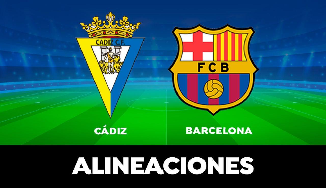 Cádiz - Barcelona: Horario y dónde ver el partido de la Liga Santander en directo