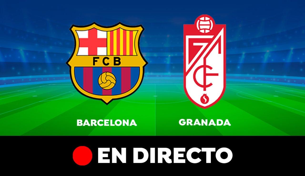 Barcelona - Granada: Partido de hoy de Liga Santander, en directo