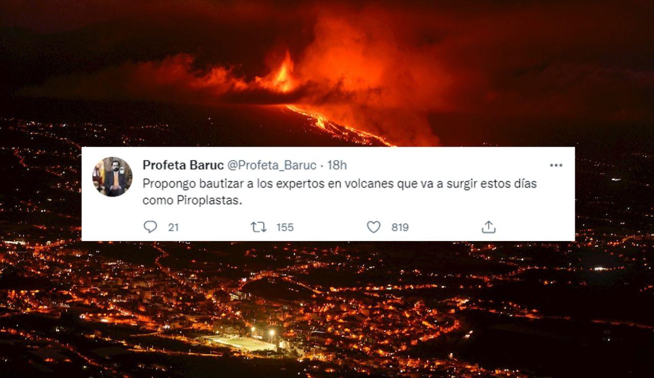 Los mejores memes del volcán
