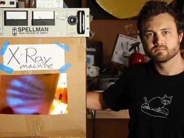 Un youtuber construye su propia máquina de rayos X