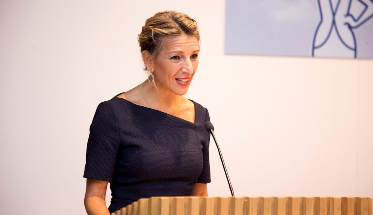La vicepresidenta segunda y ministra de Trabajo y Economía Social, Yolanda Díaz