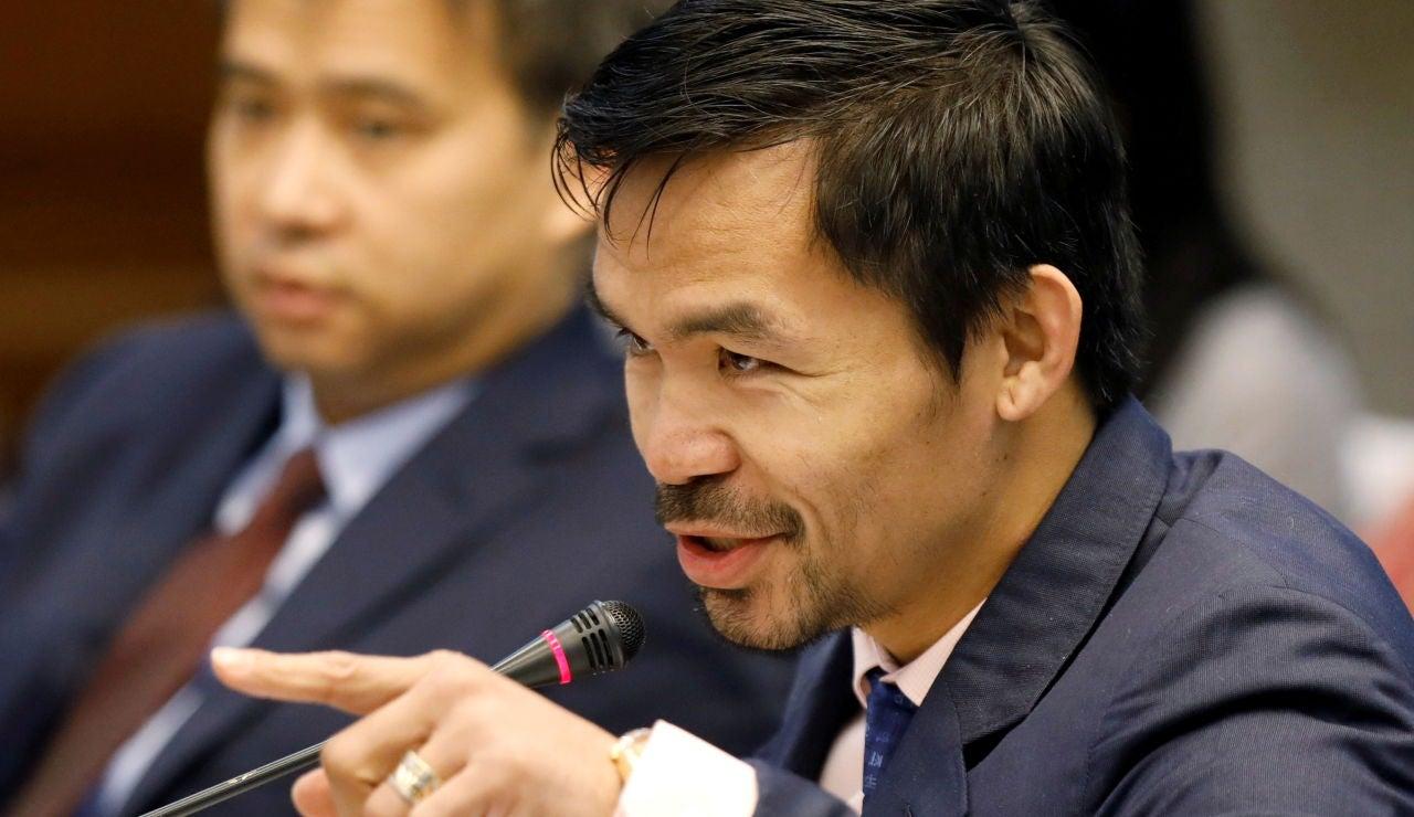"""Manny Pacquiao anuncia su retirada: """"Mi tiempo en el boxeo se ha acabado"""""""