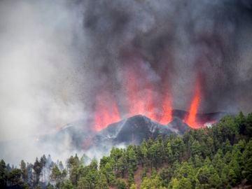 La nube tóxica generada cuando la lava del volcán de La Palma llegue al mar alcanzará a la Península