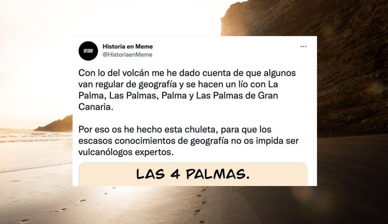 La Palma, Las Palmas, Palma y Las Palmas de Gran Canaria: ¿Sabes cuál es cuál?
