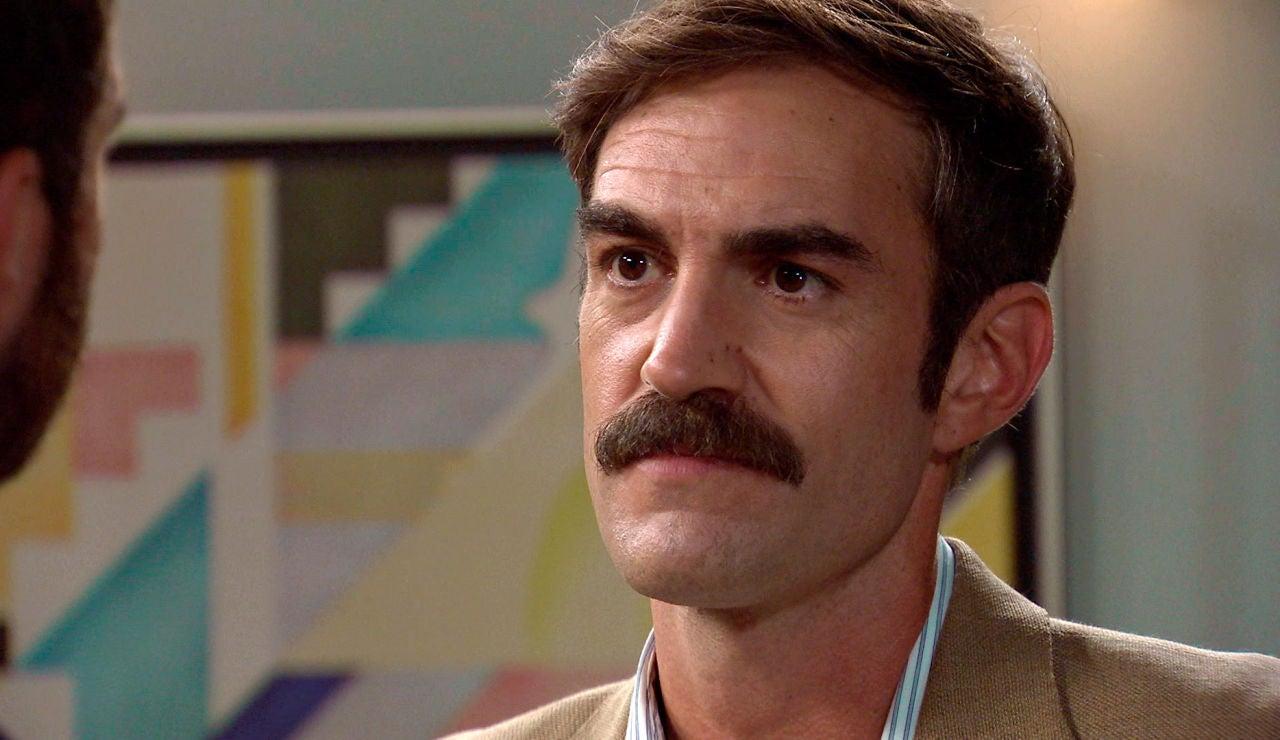 """Raúl sospecha de Fran: """"Como hagas daño a mi padre me encargaré de arruinarte la vida"""""""