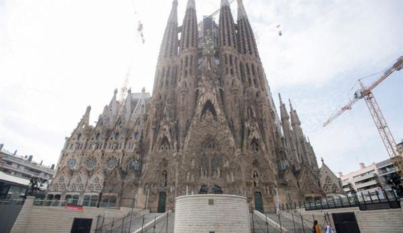 El 'skyline' de Barcelona estarán bendecido por el cimborrio de la Sagrada Familia a 172,5 metros