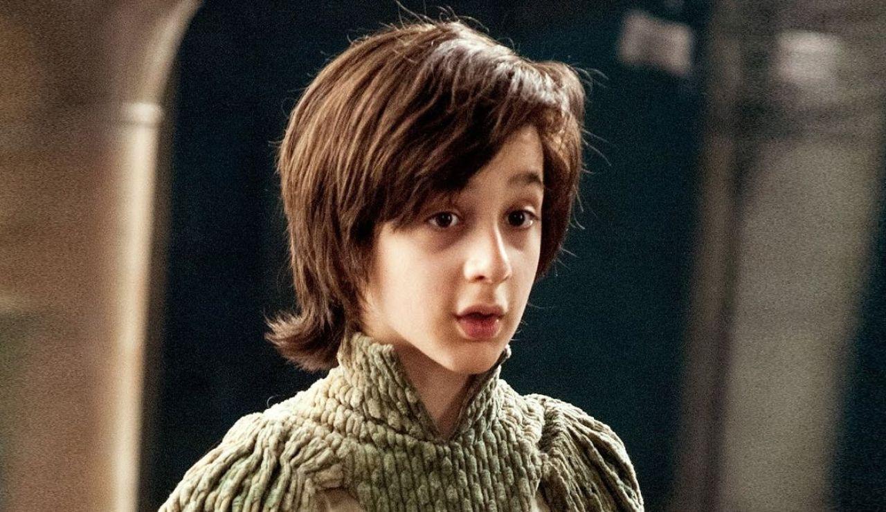Lino Facioli como Robin Arryn en 'Juego de Tronos'