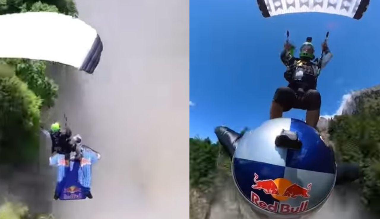 Dani Román y Pete Allum hacen historia con un salto nunca antes visto en la historia