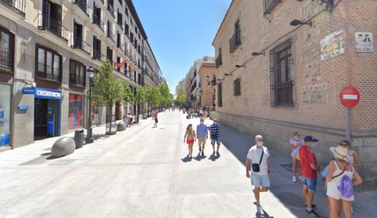 Google Maps añade a personas con mascarillas en el Street View de Madrid