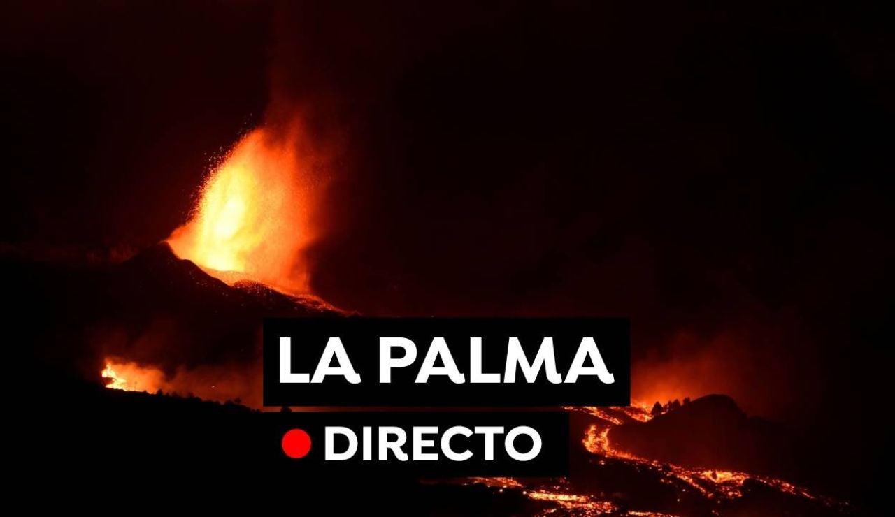 Erupción volcán La Palma en directo: Última hora de la erupción en Cumbre Vieja