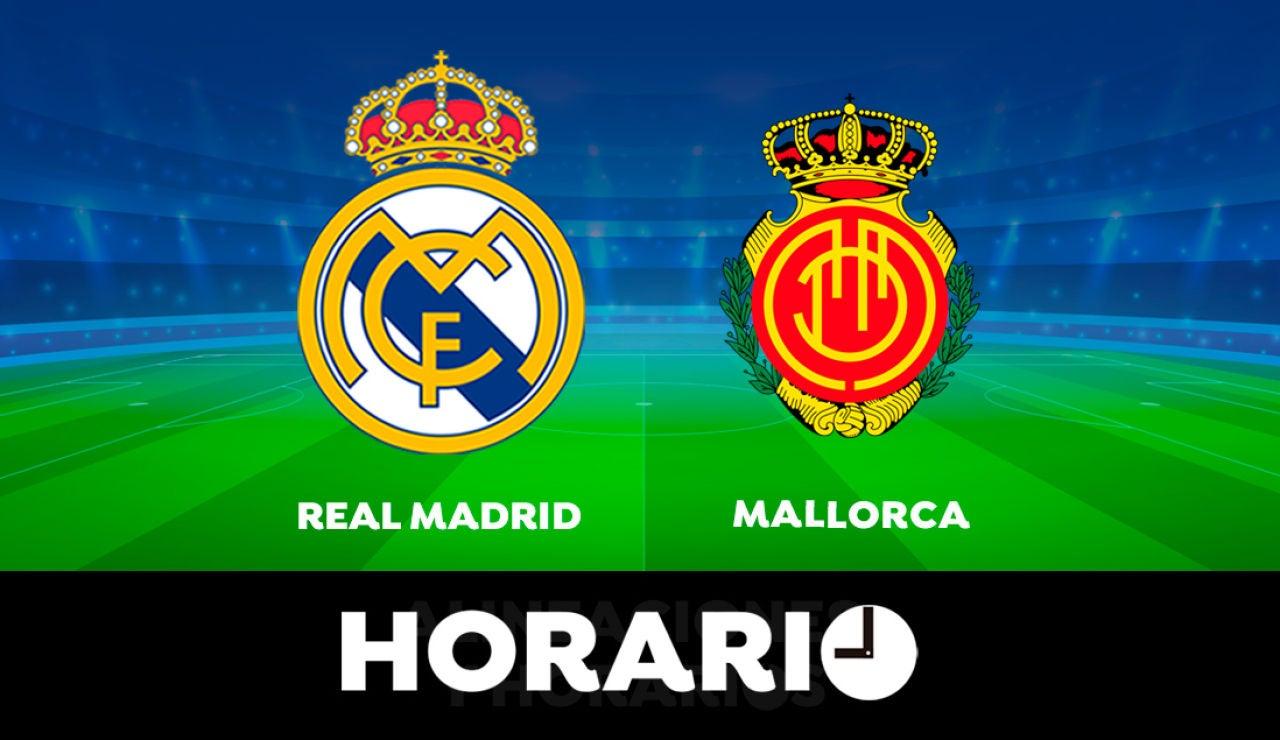 Real Madrid - Mallorca: Horario y dónde ver el partido de la Liga Santander en directo