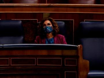 Imagen de la sesión de control al Gobierno