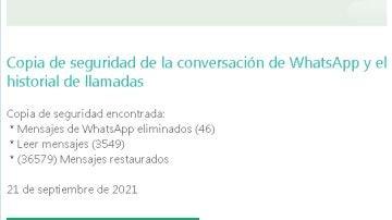El correo electrónico fraudulento de WhatsApp
