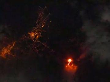 La fotografía de la erupción del volcán en La Palma desde el espacio