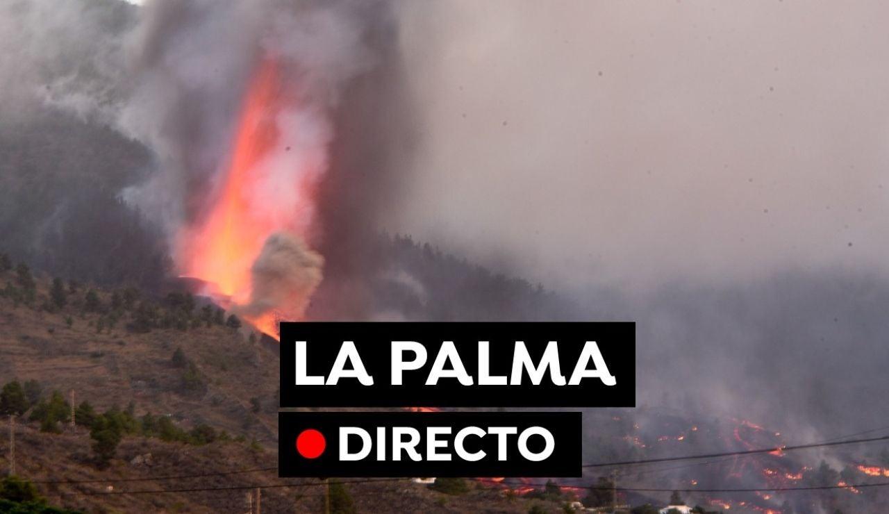 Volcán La Palma en directo: Última hora de Todoque, evolución de la erupción y llegada de la lava al mar