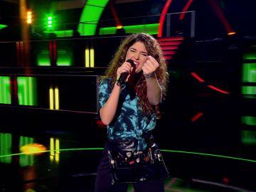 'Euphoria' con la caracterizadora emulando a Loreen en 'Veo como cantas'