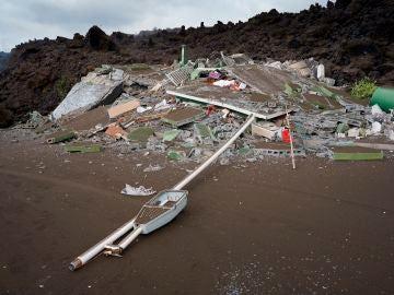 Perdidas de 400 millones de euros en La Palma por el volcán