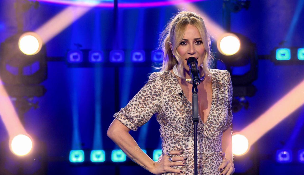 Marta Sánchez deslumbra cantando 'Brillar' en directo en 'Veo cómo cantas'