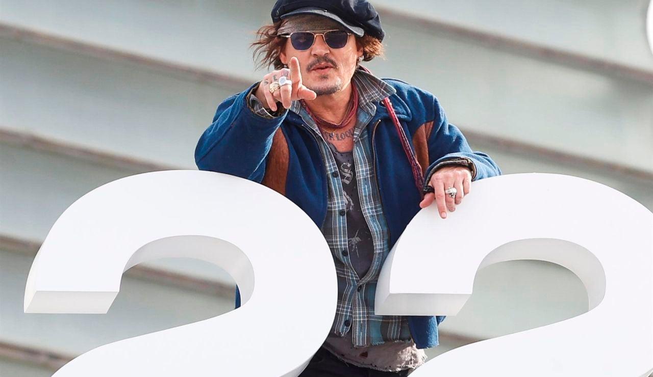 """Johnny Depp llega San Sebastián para recibir el Premio Donostia en plena """"cultura de la cancelación"""""""