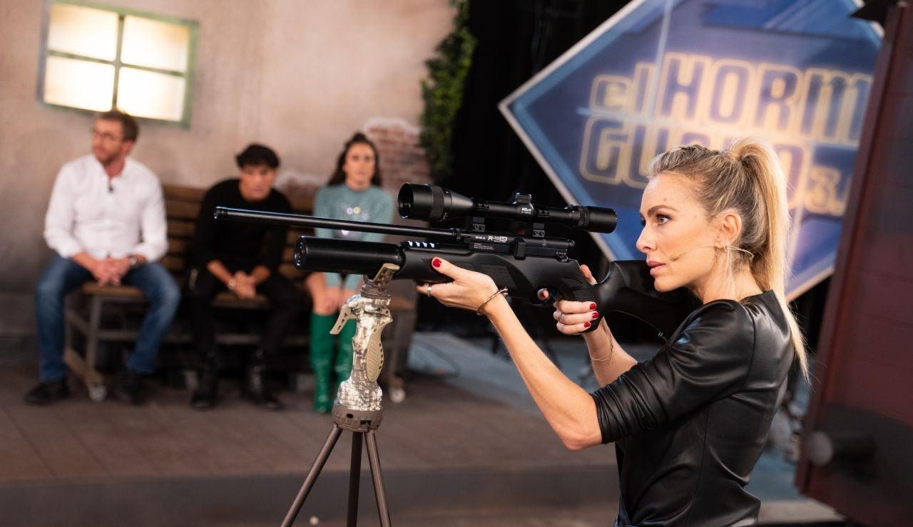 Kira Miró, ante su primer reto en 'El Hormiguero 3.0': ¡Disparo extremo!