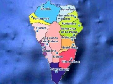 ¿Cuántos habitantes tiene La Palma y cuántos se han visto afectados hasta ahora por la erupción del volcán?
