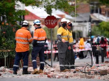 Terremoto en Melbourne
