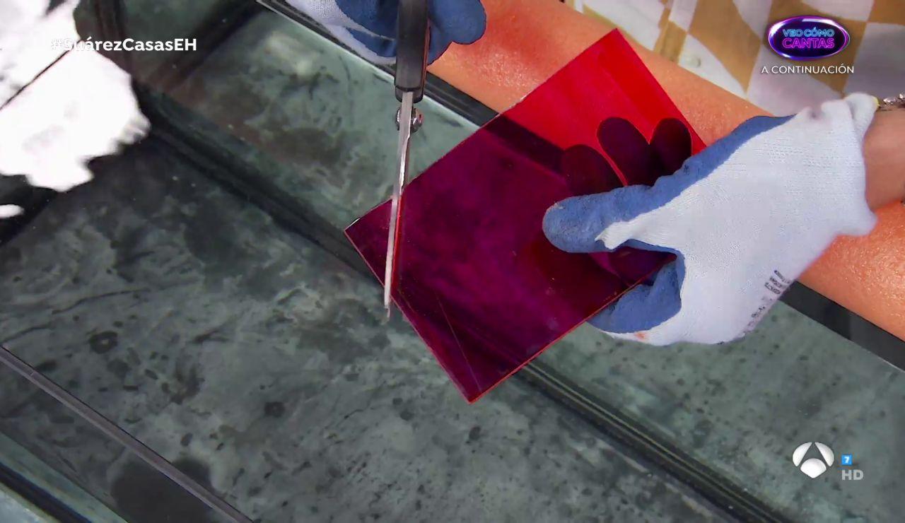 ¿Cómo cortar cristal en el agua? Marron vuelve a sorprender en 'El hormiguero 3.0'