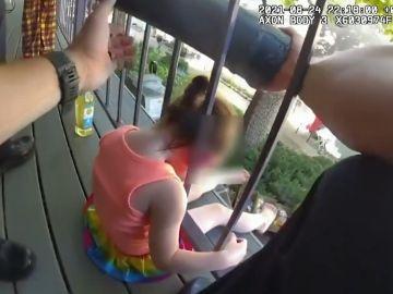 Rescate de niña atrapada en Estados Unidos