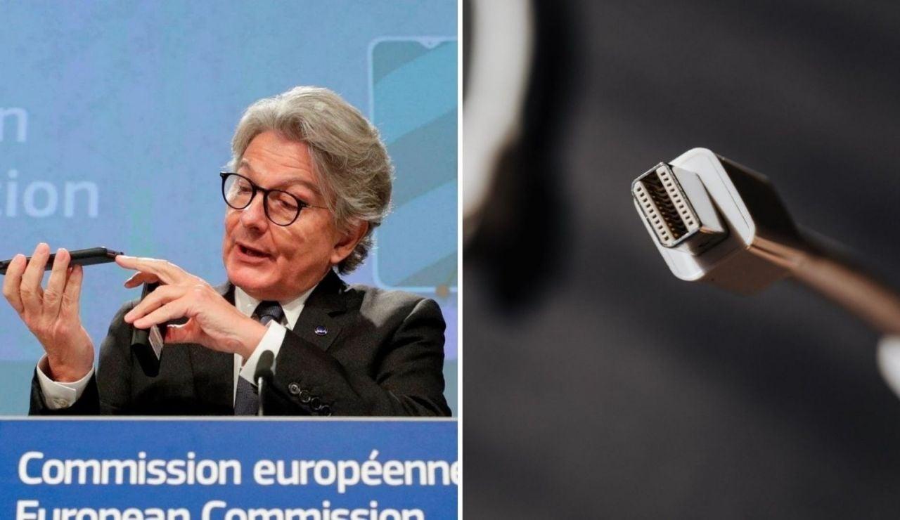 La Unión Europea propone un cargador único para móviles y tablets en contra de la postura de Apple