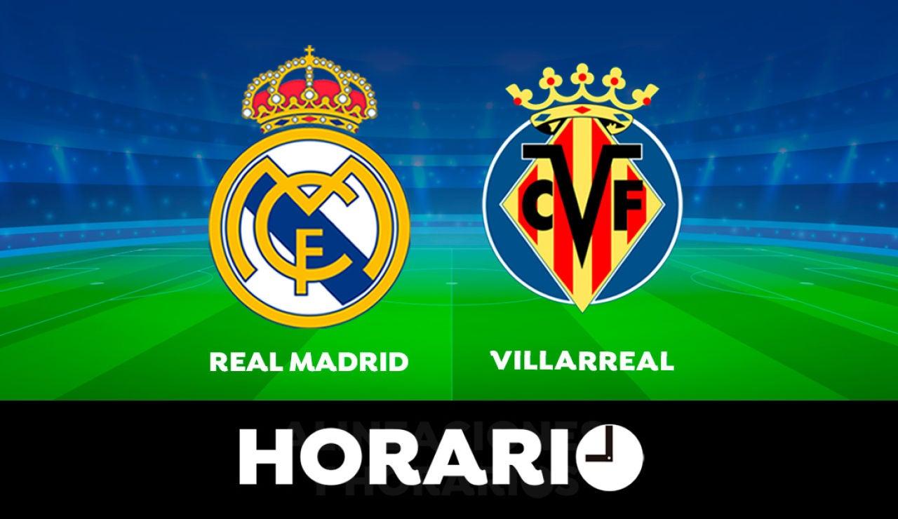 Real Madrid - Villarreal: Horario y dónde ver el partido de la Liga Santander en directo