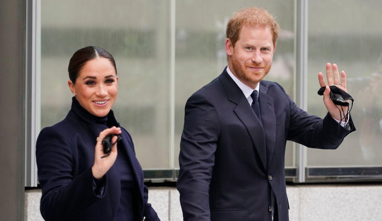 La vuelta de Meghan Markle y el príncipe Harry a la vida pública