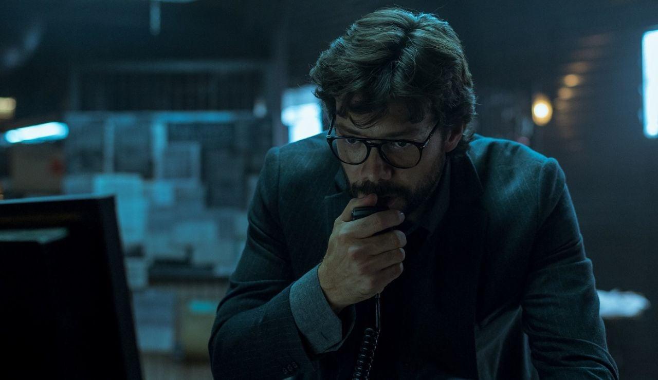 Álvaro Morte como El Profesor en 'La Casa de Papel'
