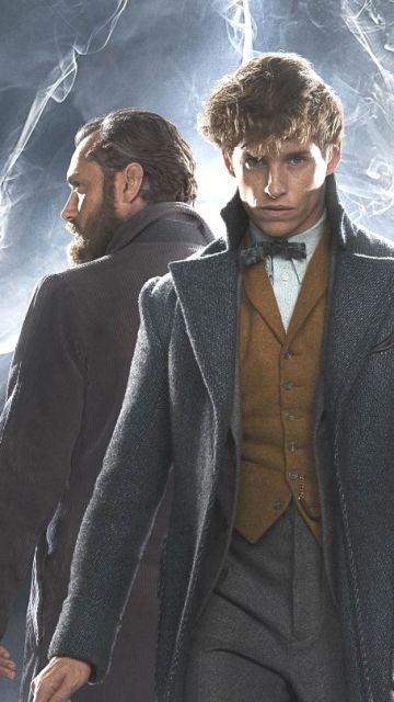 Jude Law y Eddie Redmayne en 'Los crímenes de Grindelwald'