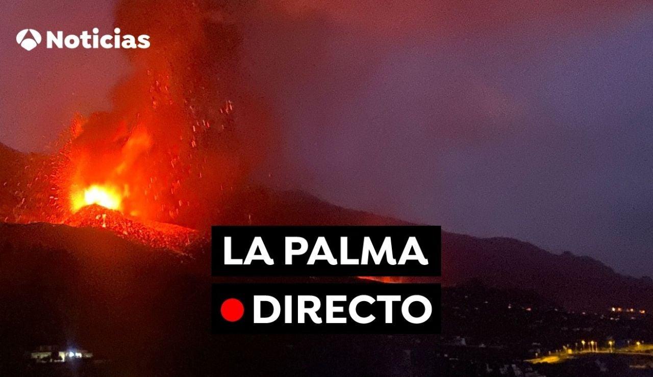 Volcán La Palma EN DIRECTO: Última hora, recorrido de la lava y noticias de la isla de Canarias hoy