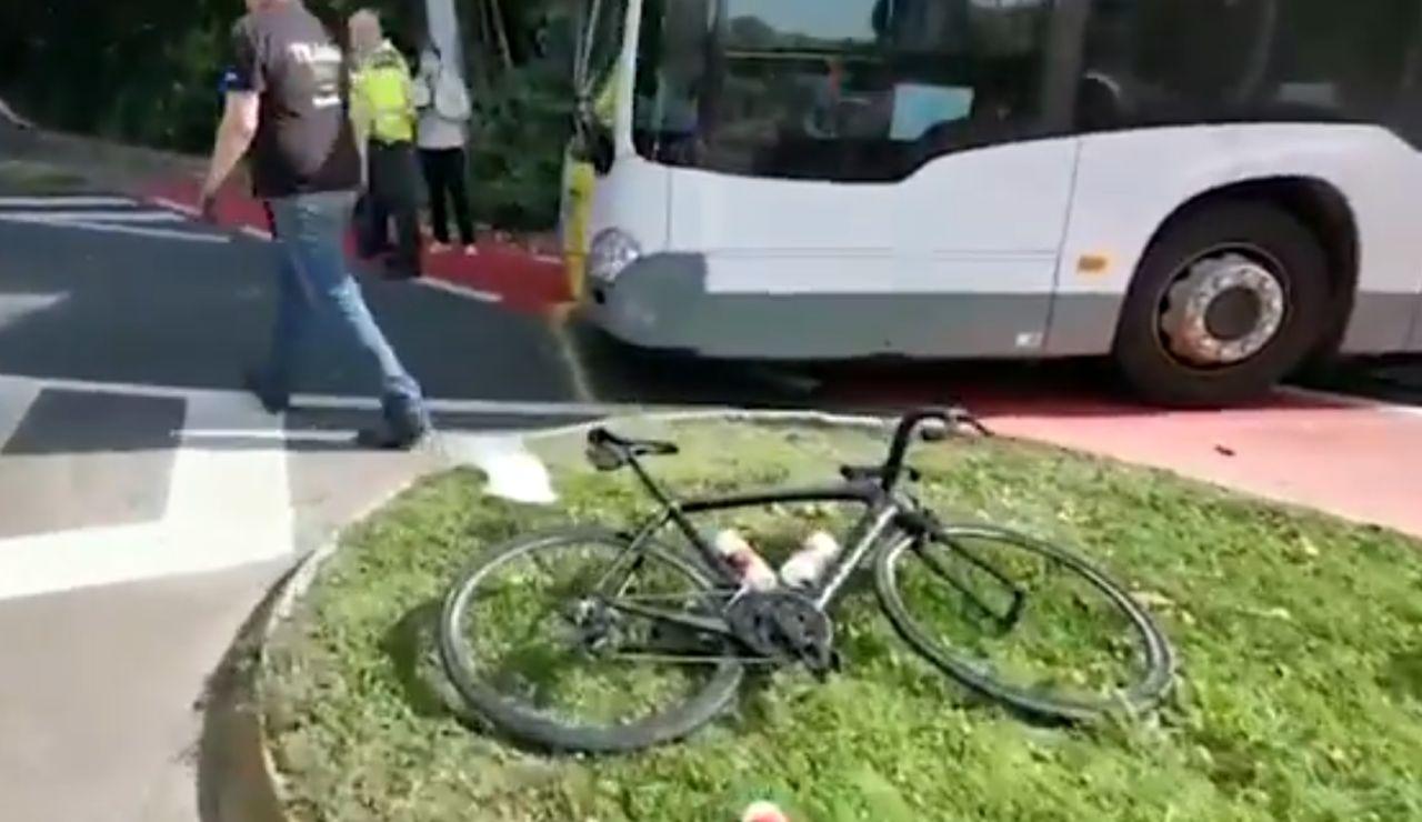 Un autobús atropella al equipo femenino junior de ciclismo de Austria en el Mundial de ciclismo