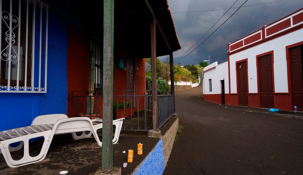 ceniza volcánica La Palma