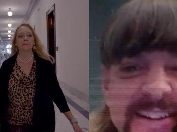 Carole Baskin y Joe Exotic en 'Tger King 2'