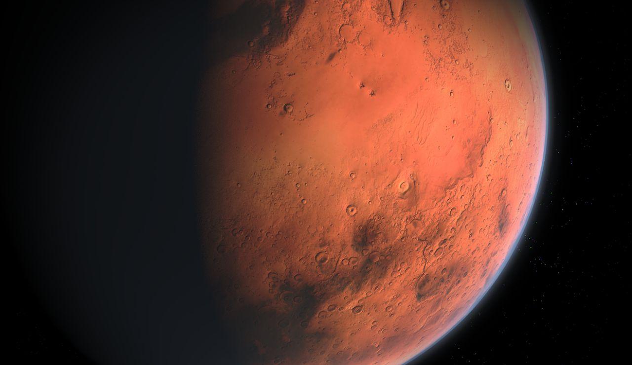 En Marte también existieron erupciones volcánicas y duraron hasta 500 millones de años seguidos