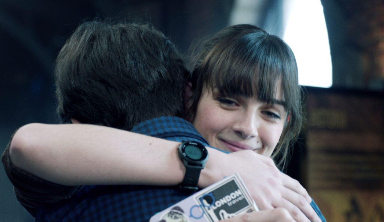 El abrazo de Ika a Paula