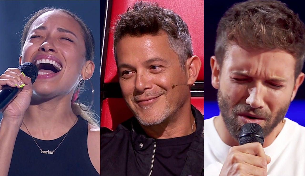 El TOP 5 de 'La Voz': Reencuentros, primeros dúos y talentos con gran nivel en las primeras Audiciones a ciegas