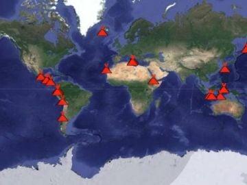 1.500 volcanes hay en el mundo