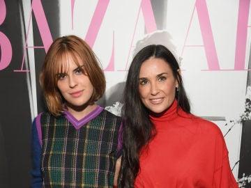 Demi Moore con su hija Tallulah Willis
